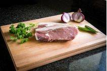 Bacon chop from Primrose Herd online shop and farm butchery