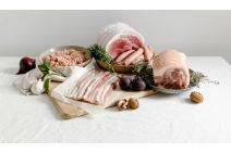Christmas Hamper - Smoked luxury hamper for two from the Primrose Herd online shop and farm butchery
