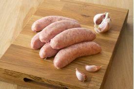 Pork and Garlic Sausages from Primrose Herd